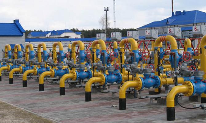 Газпром на 8,9% увеличил запасы газа в ПХГ Белоруссии