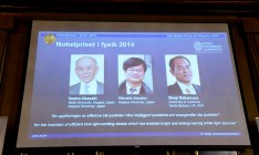 Japanese scientists win Nobel Prize in physics for their invention of environmentally-friendly blue LEDs