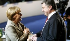 Poroshenko complained to Merkel for non-payment by Russia for transit gas