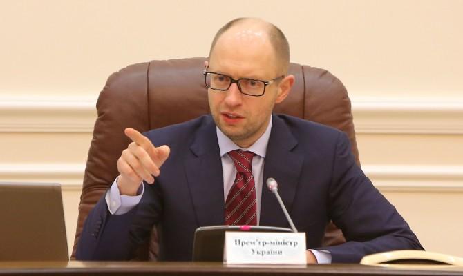 Яценюк проведет совещание с руководителями Хмельницкой области