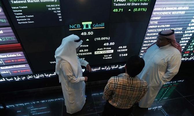 Индекс саудовской биржи обвалился на7,5% после снятия санкций сИрана