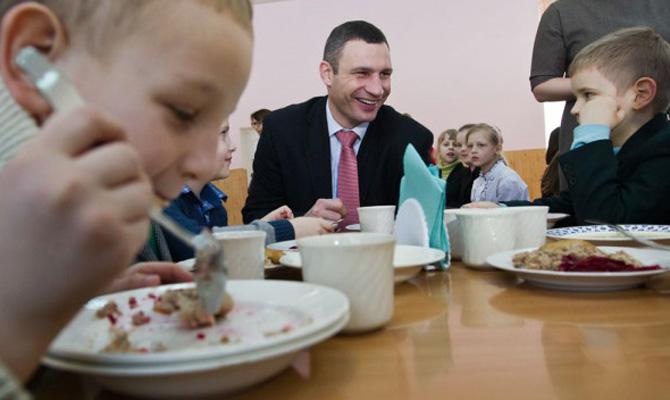 В столице бесплатное питание получают все ученики младшей школы — КГГА