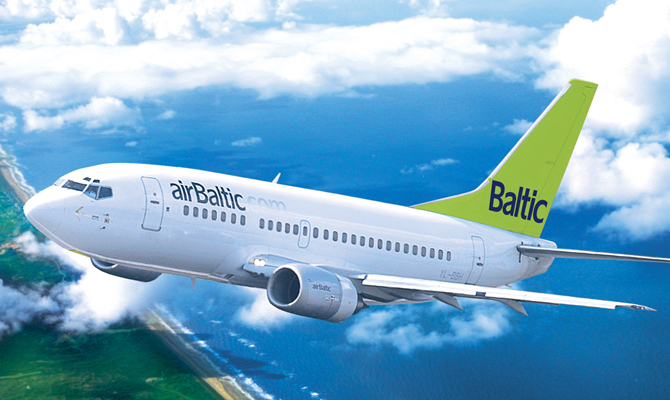 Airbaltic отметит 20-летие в Украине распродажей билетов