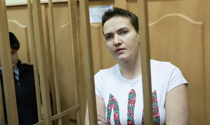 Великобритания призывает столицу отпустить летчицу Савченко, объявившую сухую голодовку