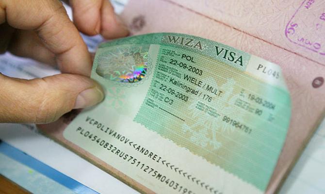 Более 3% украинцев получили отказы в шенгенских визах