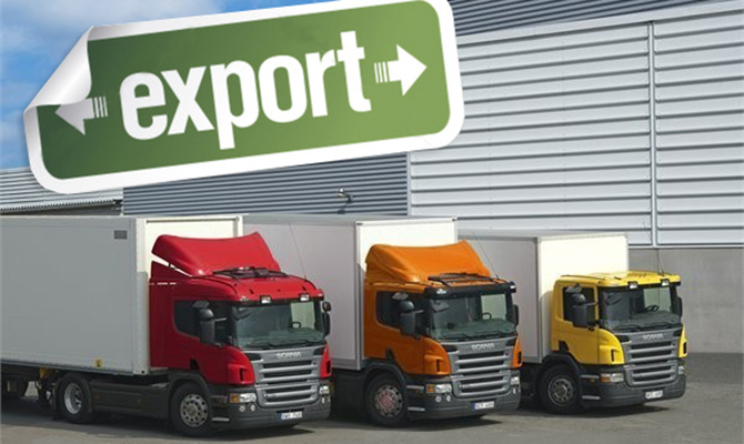 Половина украинского экспорта ушла в январе в ЕС