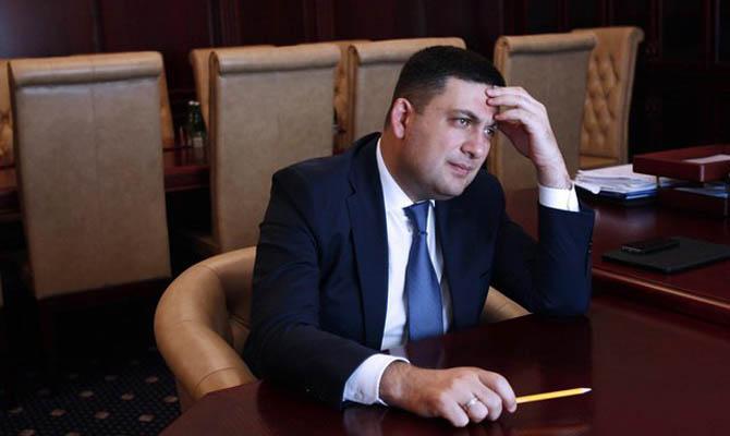 Гройсман считает что до конца недели коалицию создать не удастся