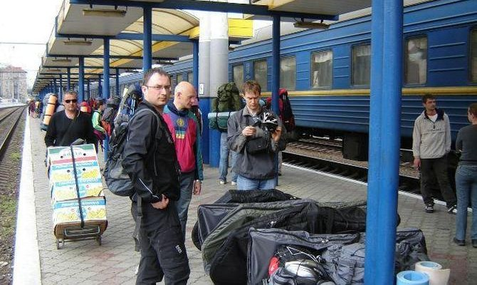 В Украине за 3 месяца пассажироперевозки сократились на 6,1