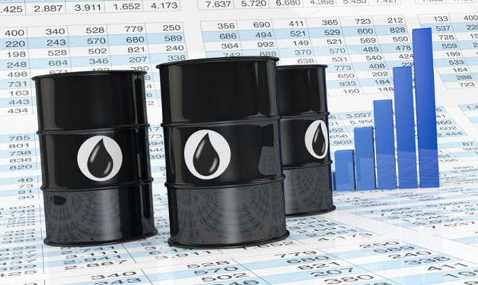 Цена нанефть задень упала на3 доллара