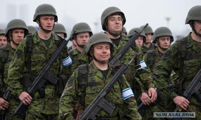 4 государства из-за агрессииРФ отправят военных встраны Балтии