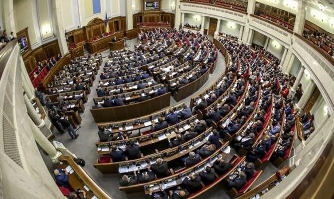Рада приняла закон осудоустройстве истатусе судей