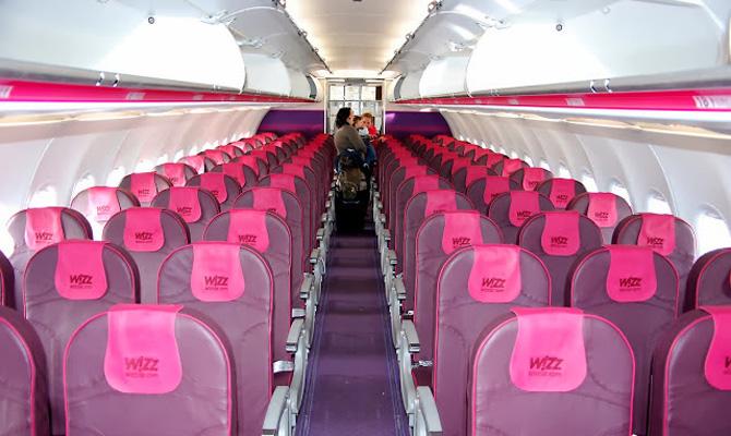 Wizz Air открывает два новых рейса из Киева