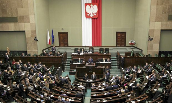 Рада обвинила поляков вантиукраинской политике иразвязывании вражды— Сейм раздора