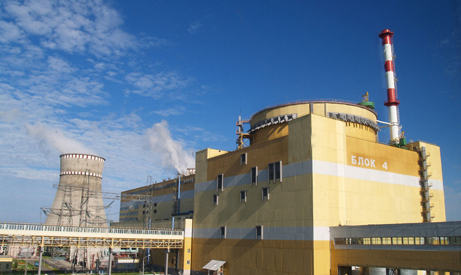 Ривненская АЭС подключила к сети третий энергоблок