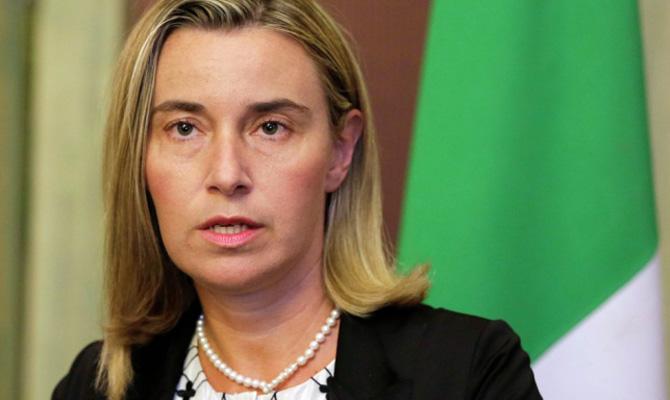 Могерини обсудила сглавой МИД Украины ситуацию после диверсии вКрыму