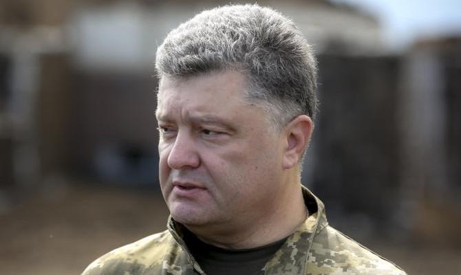 Президент Украины отправил руководителя Генштаба взону АТО