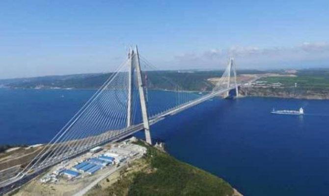 ВСтамбуле открывают самый широкий вмире мост