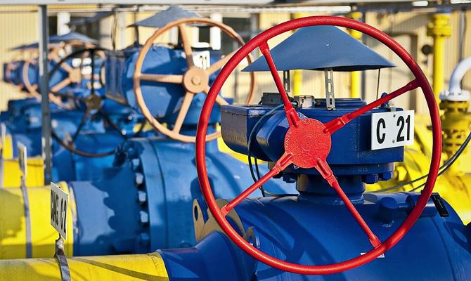 Запасы газа вподземных хранилищах возросли до39%