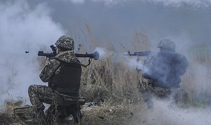Пресс-служба штаба АТО: Нарушая «режим тишины», боевики обстреляли Новоалександровку