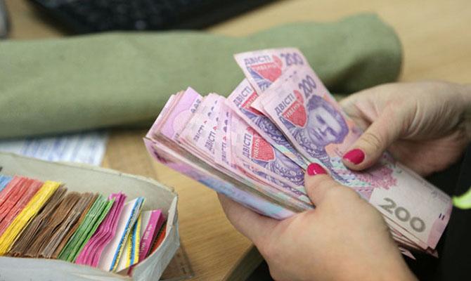 Средняя зарплата вУкраине загод выросла