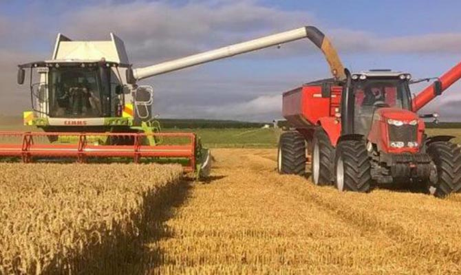 ВРязанской области продолжается уборка зерновых культур