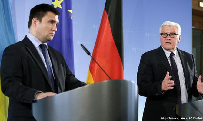 П.Климкин обсудит вГермании санкции противРФ ипредоставление Украине безвиза