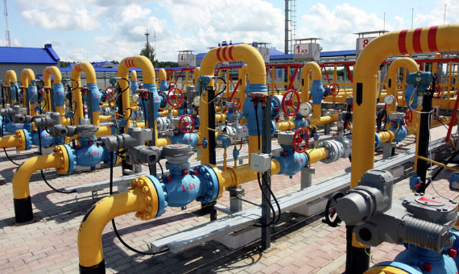 Украина увеличит запасы «зимнего» газа вПХГ до17 млрд куб. м