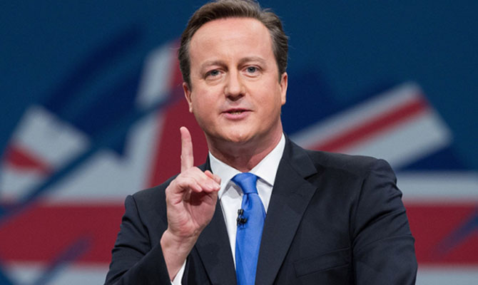 Кэмерон объявил обуходе изпарламента