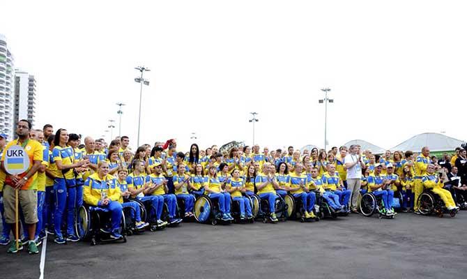 Украинские паралимпийцы бьют рекорды: 81 медаль вРио