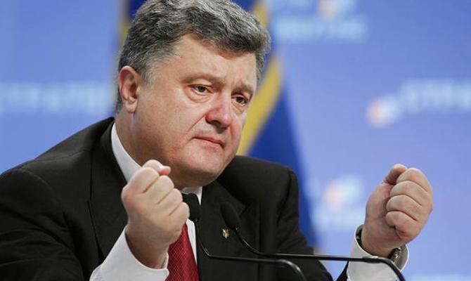 Порошенко: Без вывода русских войск выборов наДонбассе небудет