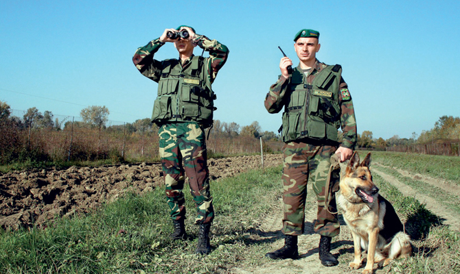 Некоторые пограничные подразделения переименовали вчесть украинских деятелей