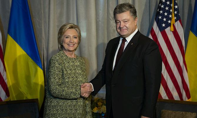 Порошенко обсудил свице-президентом США ситуацию наДонбассе икредитные гарантии