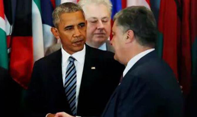 Порошенко иОбама вНью-Йорке побеседовали ореализации политической части Минских договоров