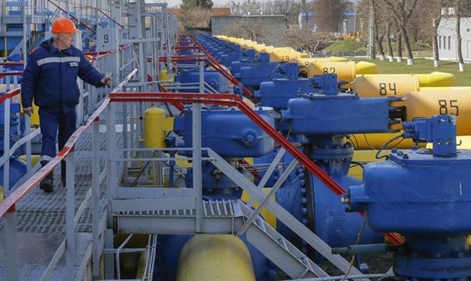 Запасы газа вУкраинском государстве растут