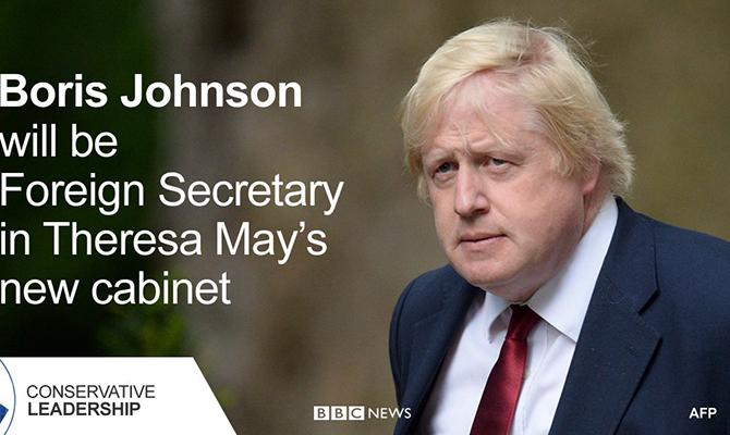 Борис Джонсон призвал «оказывать давление» на Российскую Федерацию из-за ситуации вСирии