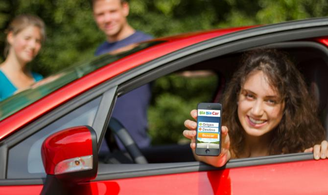 Услуги BlaBlaCar вгосударстве Украина станут платными