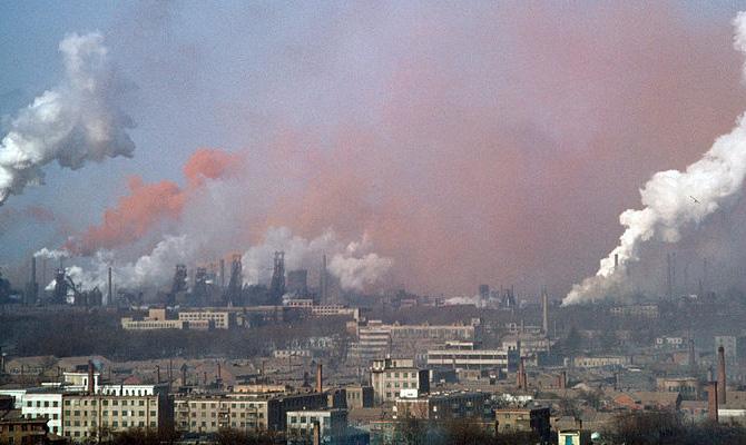 Украина стала лидером посмертности отзагрязненного воздуха