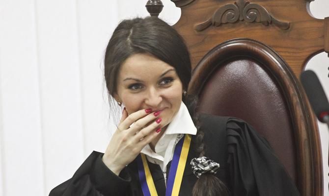 Судью Печерского райсуда столицы Украины Царевич сократили