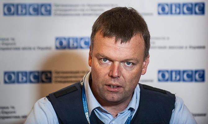 ОБСЕ: Соглашение оразведении войск наДонбассе невыполняется