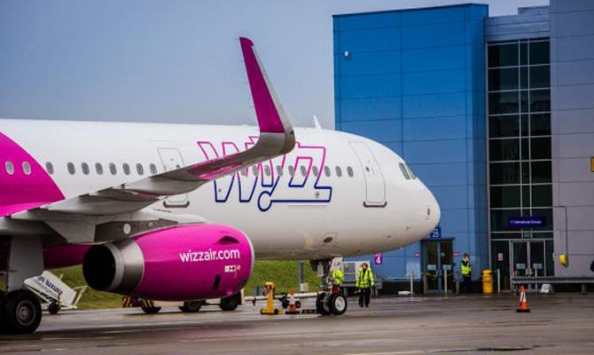 Wizz Air сдекабря будет летать изКиева вБратиславу