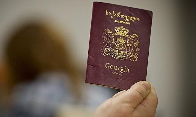 ЕСназвал условия введения безвизового режима сГрузией