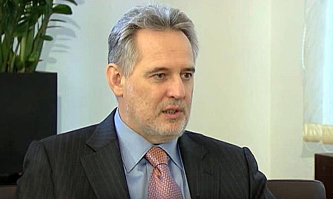 Фирташ заявил, что заподжогом «Интера» стоит «Народный фронт»
