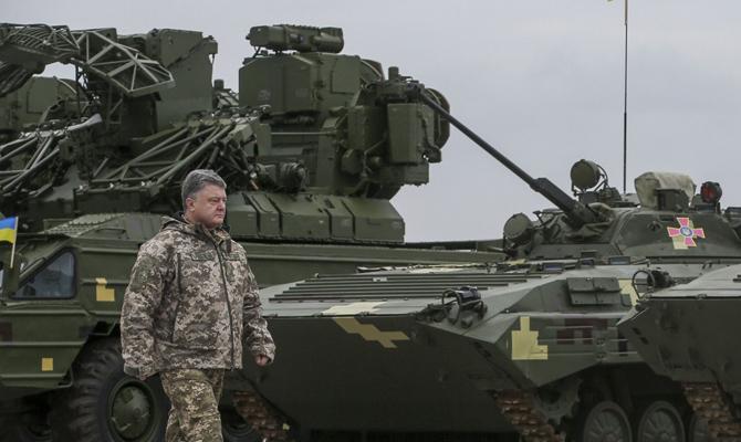 Порошенко: Защищая государство Украину от русской агрессии, погибли 2533 украинских военных