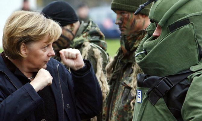 ВСМИ поговаривают, что инициатором новых санкций против Российской Федерации будет Меркель