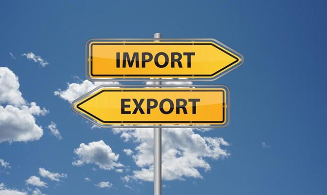 Импорт товаров в Украину превысил экспорт на $1,4 млрд