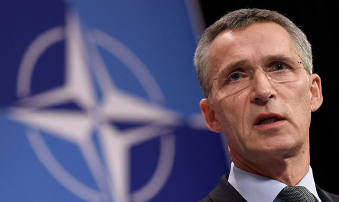 НАТО: РФ как ираньше присутствует наДонбассе