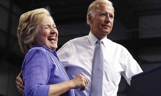 Джо Байден отказался работать вадминистрации Клинтон