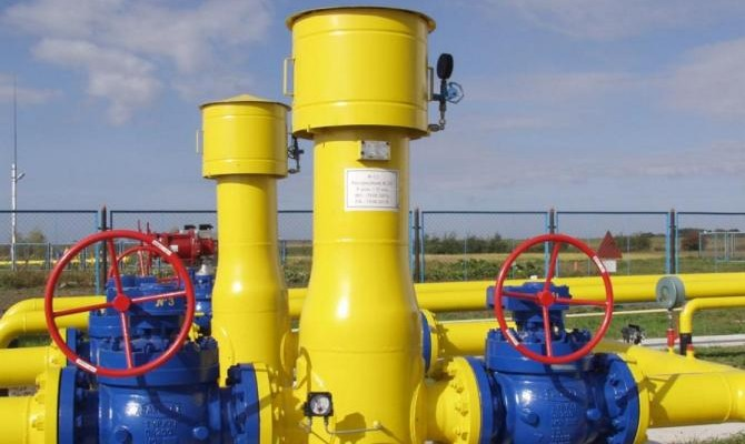 Украина сократила импорт газа практически вдвое