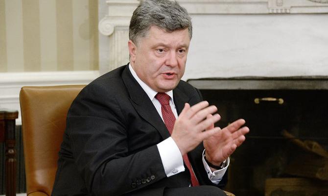 Порошенко: впервый раз за25 лет Украина смогла добиться энергетической независимости