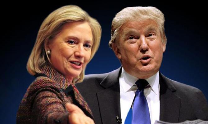 Трамп может отобиды начать войну— Клинтон